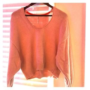Cropped, loose for sweater